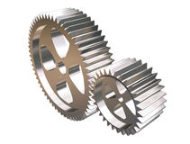 Gears. Mechanic part gear Royalty Free Stock Photos