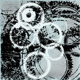 Gears Abstract Background Royalty Free Stock Images