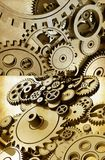 Gears Abstraction. Cog Wheels and Gears Grunge Theme Royalty Free Stock Image