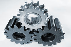 Gears against white background Stock Image