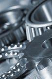 Gears And Bearing Close-ups Royalty Free Stock Photo