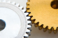 Gears as industrial concept. Gears as industrial technology concept Royalty Free Stock Photos