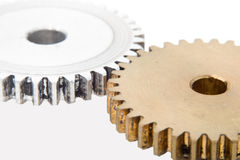 Gears as industrial concept. Gears as industrial technology concept Royalty Free Stock Photo
