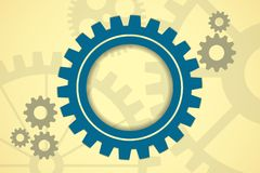 Gears back Royalty Free Stock Photography