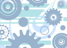 Gears background. Background with gears, mechanisms Royalty Free Stock Photos