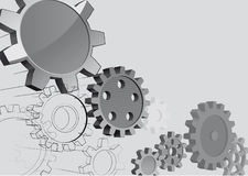 Gears background Royalty Free Stock Images