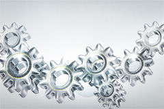 Gears background Royalty Free Stock Photo