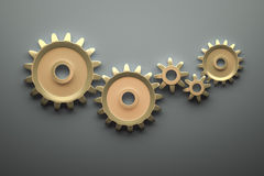 Gears background Stock Photo