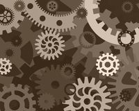 Gears background Royalty Free Stock Image