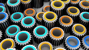 Gears background. Abstract 3d illustration of gears background vector illustration
