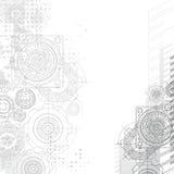 Gears background, blueprint. Gears Background. Under construction blueprint Royalty Free Stock Photos