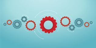 Gears background cog wheel vector illustration eps10.  royalty free illustration