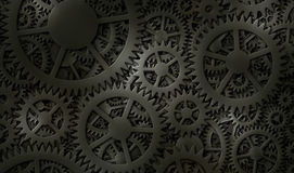 Gears Background Design Stock Photography