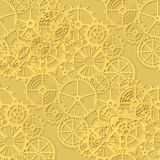 Gears background Stock Images