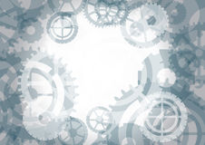 Gears background,  illustration Royalty Free Stock Photo