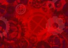 Gears background,  illustration Stock Photos