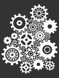 Gears background Stock Image