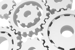 Gears Background Stock Photos
