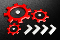 Gears background Royalty Free Stock Photography
