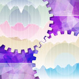 Gears Background Teamwork Business Stock Photo