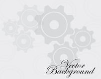 Gears background vector Stock Photo