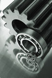 Gears and balls Royalty Free Stock Photo