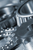 Gears and bearing close-ups Royalty Free Stock Photo