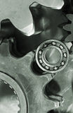 Gears and bearing close-ups Royalty Free Stock Photography
