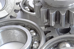 Gears and bearings Stock Image