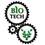 Gears bio tech Stock Photography