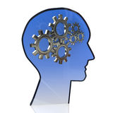 Gears Brain Royalty Free Stock Photography