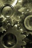 Gears in bronze toning Stock Photos