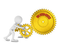 Gears business Royalty Free Stock Photos