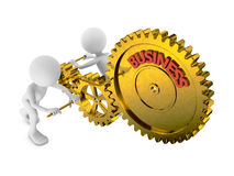Gears business Stock Photography