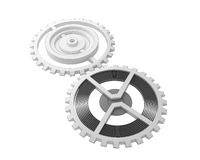 Gears with cartoon shader Stock Image