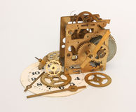Gears from a clockwork. Stock Photography