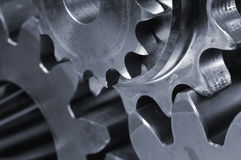 Gears close-up royalty free stock images