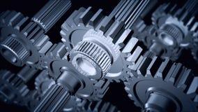 Gears stock footage