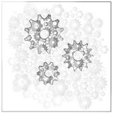 Gears, cog and mechanism Stock Images