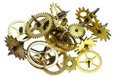 Gears - cog wheels Royalty Free Stock Photography