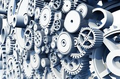 Gears and Cog Wheels Royalty Free Stock Photography