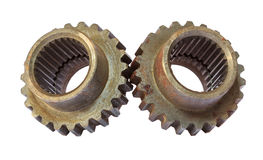 Gears cogs for industry metal Stock Photo