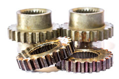 Gears cogs for industry metal Royalty Free Stock Photo