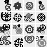 Gears and cogs mechanic,vector Royalty Free Stock Photo