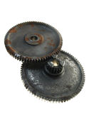 Gears cogs rusty Royalty Free Stock Image
