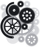 Gears, Cogs and Wheels Stock Image