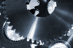 Gears and cogwheel machinery Royalty Free Stock Photo