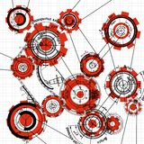 Gears and cogwheels Royalty Free Stock Photography