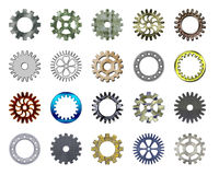 Gears collection #2 royalty free stock image