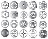 Gears collection Royalty Free Stock Image